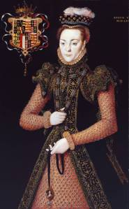 Portrait of an Unknown Lady circa 1565-8 by Hans Eworth active 1540-1573